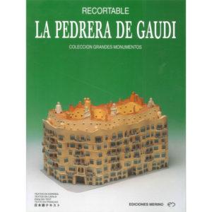 Portada Recortable Pedrera de Gaudí - OhMysouvenir