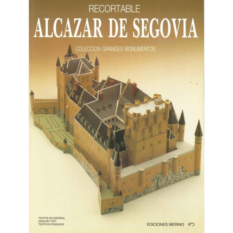 Portada del Recortable del Alcazar de Segovia - OhMySouvenir