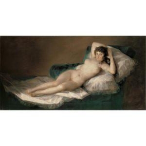 La maja desnuda de Goya - OhMySouvenir